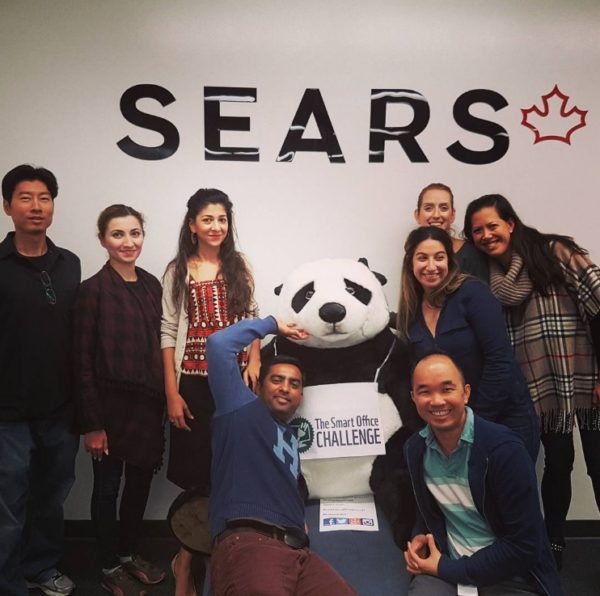 Sears Canada employees did their part for nature by taking part in the Smart Office Challenge this Fall. © Sears Canada