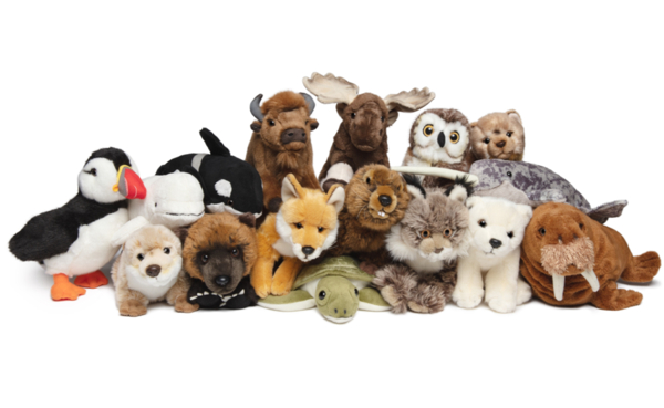 collection of plushies